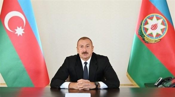 رئيس أذربيجان إلهام علييف (أرشيف)