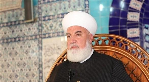 مفتي دمشق الذي اغتيل اليوم الشيخ عدنان الأفيوني (أرشيف)