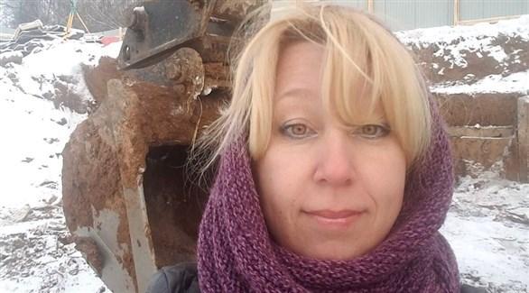 الصحافية الروسية المنتحرة إيرينا سلافينا (أرشيف)
