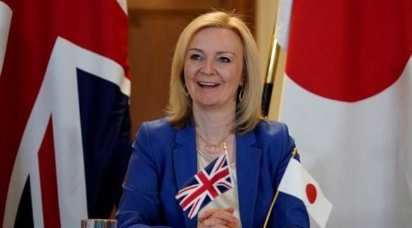 وزيرة التجارة البريطانية ليز تروس (أرشيف)