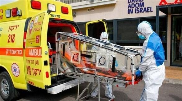 سيارة إسعاف لنقل المصابين بكورونا في إسرائيل (أرشيف)
