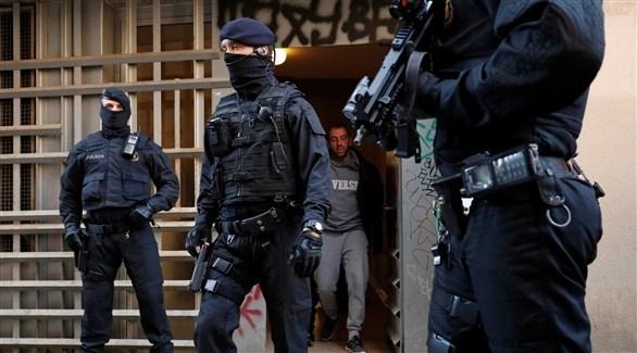 عناصر من الشرطة الإسبانية (أرشيف)