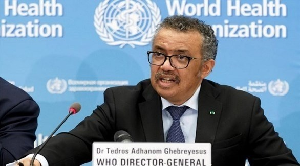 رئيس منظمة الصحة العالمية تيدروس أدهانوم جيبريسوس (أرشيف)