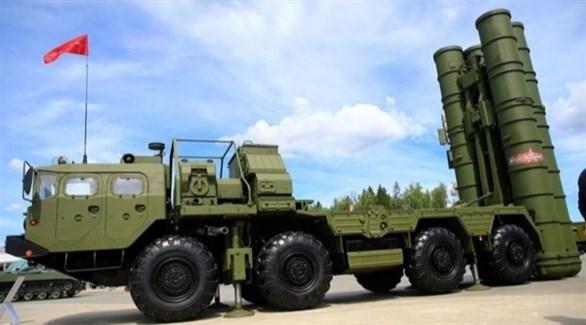 منظومة الدفاع الجوي الروسية إس 400 (أرشيف)