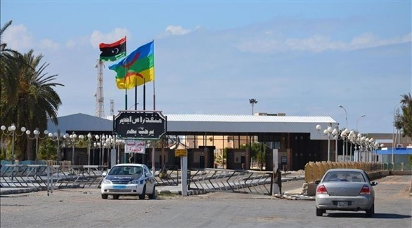 معبر راس جدير الحدودي بين تونس وليبيا (أرشيف)