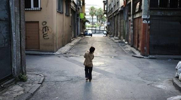 طفل متسول في تركيا (أرشيف)