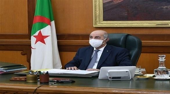 الرئيس الجزائري عبد المجيد تبون (أرشيف)