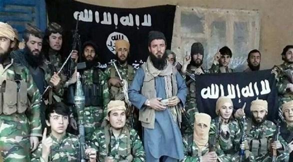 مسلحون من تنظيم داعش الإرهابي في أفغانستان (أرشيف)