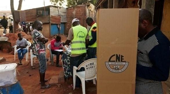 مركز اقتراع في غينيا (أرشيف)