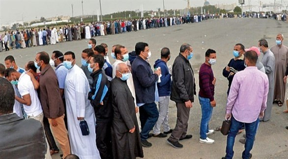 أحد مراكز الاقتراع في مصر (أرشيف)