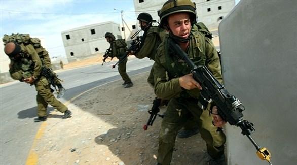 عناصر من الجيش الإسرائيلي خلال تدريب عسكري (أرشيف)