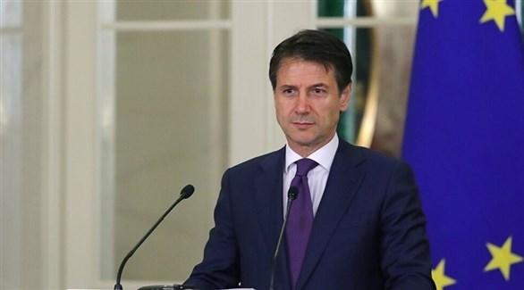 رئيس الوزراء الإيطالي جوزيبي كونتي (أرشيف)