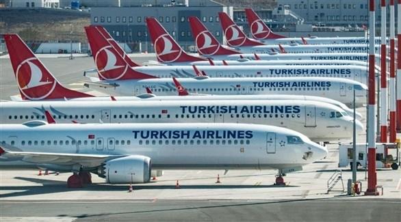 طائرات تابعة لشرطة الخطوط الجوية التركية.(أرشيف)