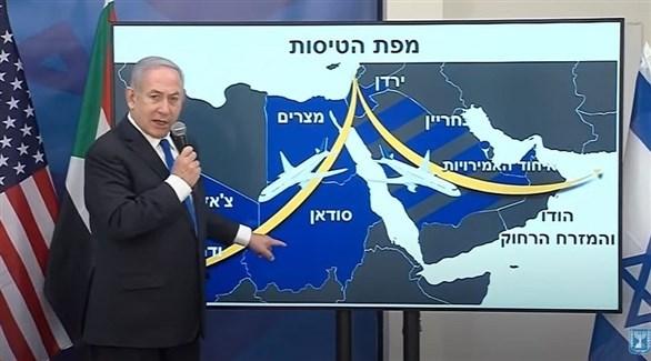 رئيس الوزراء الإسرائيلي بنيامين نتانياهو (لقطة من التلفزيون)