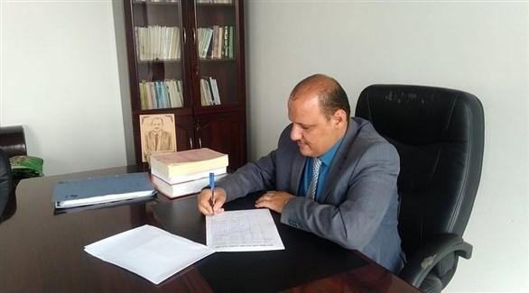 رئيس منظمة حماية القانون والسلم الاجتماعي المحامي عبدالله سلطان شداد (أرشيف / فيس بوك)