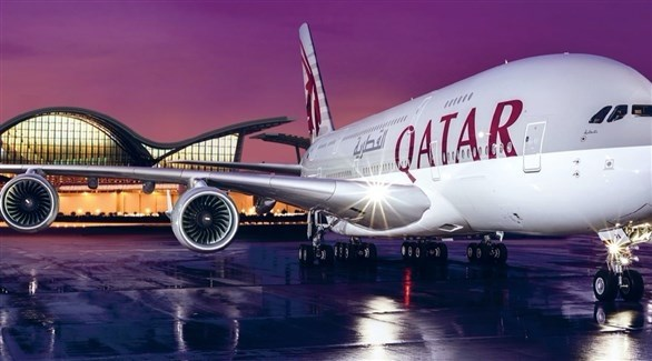 طائرة تابعة للخطوط الجوية القطرية (أرشيف)