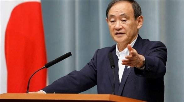 رئيس الوزراء الياباني يوشيهيدي سوجا (أرشيف)