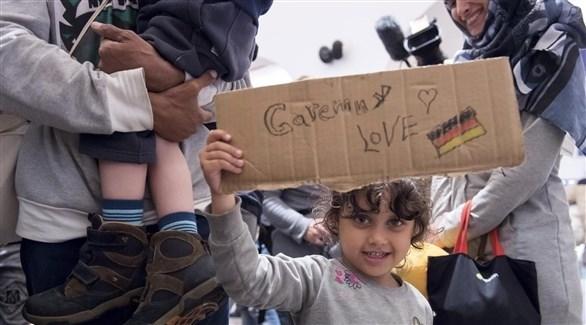 طفلة لاجئة (أرشيف)