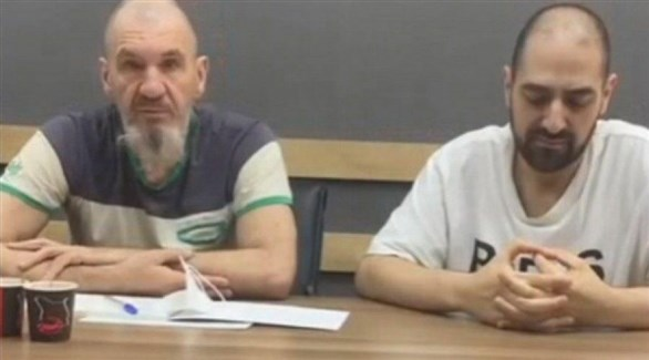 الروسيان المحتجزان في ليبيا مكسيم شوغالي وسامر سويفان (أرشيف)