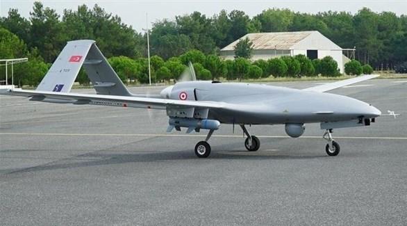 طائرة تركية دون طيار من طراز بيرقدار (أرشيف)
