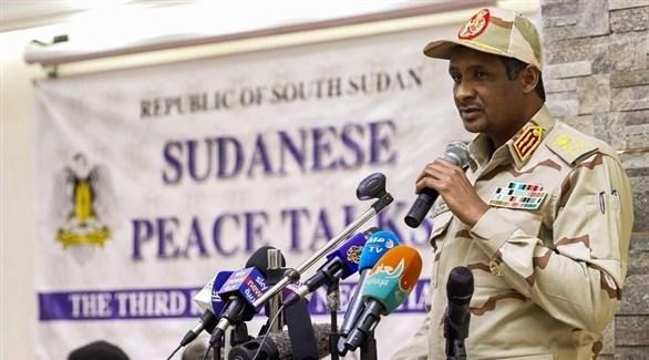 نائب رئيس مجلس السيادة السوداني الفريق أول محمد حمدان دقلو (أرشيف)