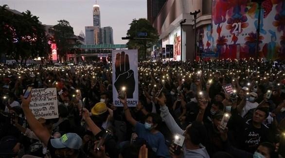 احتجاجات في تايلاند (أرشيف)