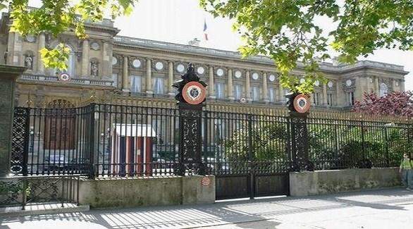 قصر كاي دورساي مقر الخارجية الفرنسية في باريس (أرشيف)