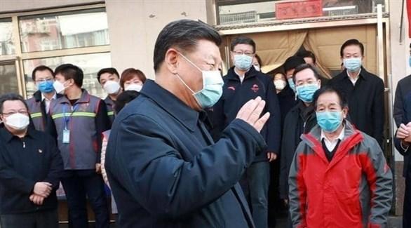 الرئيس الصيني خلال جولة في العاصمة (أرشيف)