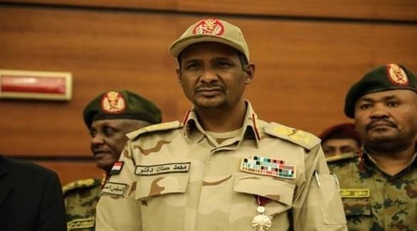 نائب رئيس مجلس السيادة الانتقالي السوداني محمد حمدان دقلو (أرشيف)