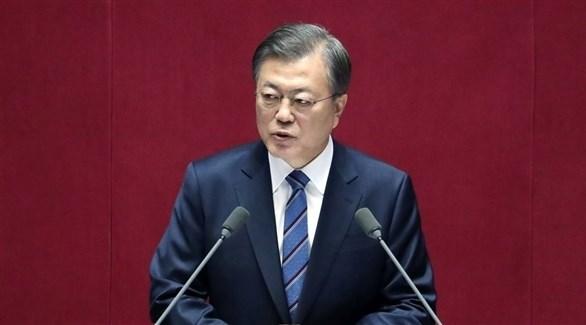 رئبس كوريا الجنوبية مون جاي إن (أرشيف)