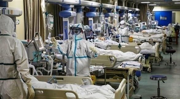 مصابون بكورونا في قسم الإنعاش بأحد مستشفيات نيويورك (أرشيف)