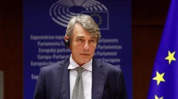رئيس البرلمان الأوروبي ديفيد ساسولي (أرشيف)