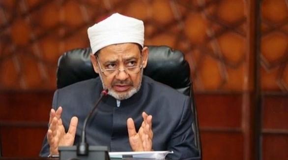 إمام الأزهر الشريف الدكتور أحمد الطيب (أرشيف)