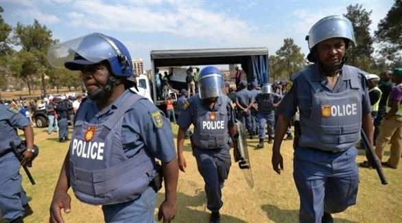 عناصر من شرطة موزمبيق (أرشيف)