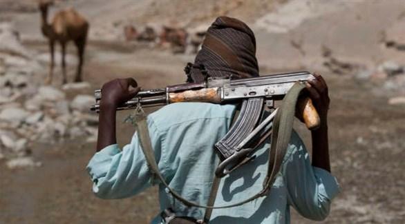 مسلح من العفر في شمال شرق أثيوبيا (أرشيف)