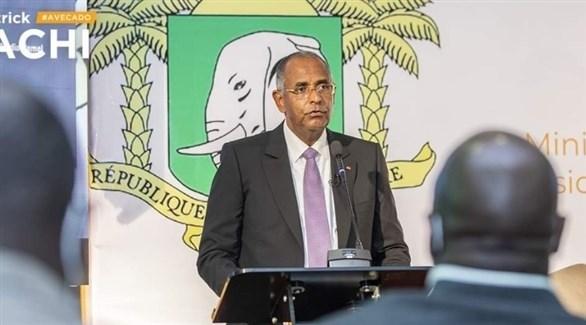 الأمين العام لرئاسة ساحل العاج باتريك أشي (أرشيف)