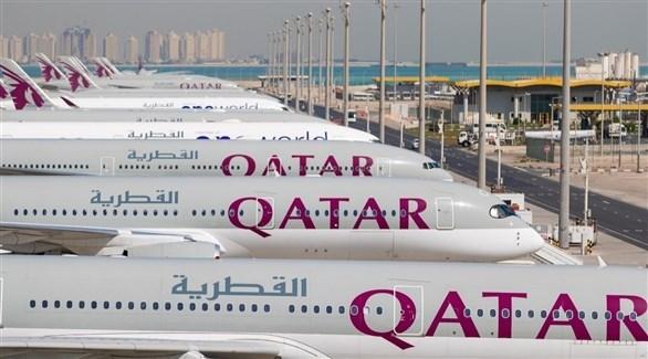 طائرات تابعة للخطوط الجوية القطرية (أرشيف)