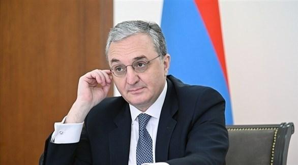 وزير الخارجية الأرميني زوهراب مناتساكانيان (أرشيف)