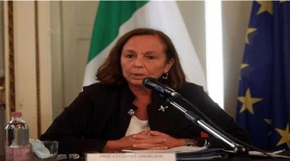 وزيرة الداخلية الإيطالية لوتشيانا لامورجيزي (أرشيف)