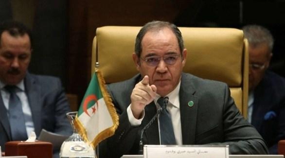 وزير الشؤون الخارجية الجزائري صبري بوقادوم (أرشيف)