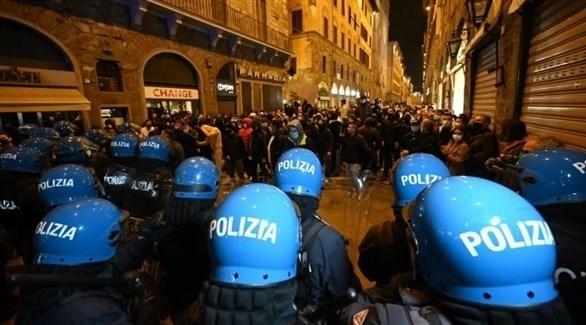 مظاهرا وأعمال شغب في فلورنسا (أرشيف)