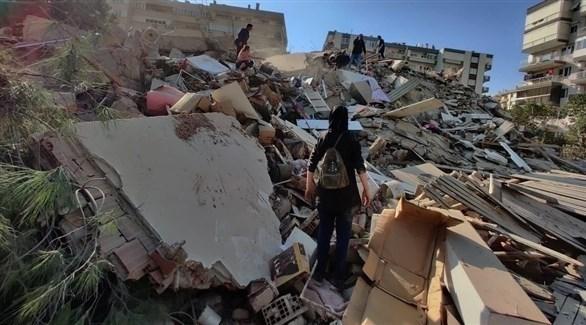 زلزال تركيا (أرشيف)