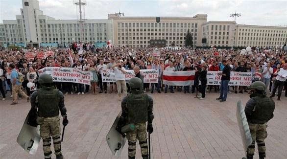 احتجاجات في بلاروس (أرشيف)