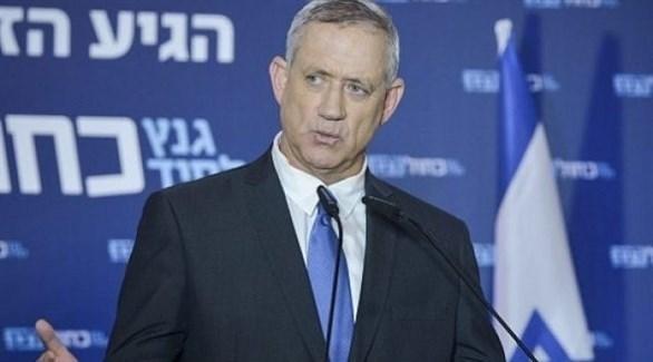 وزير الدفاع الإسرائيلي بيني غانتس (أرشيف)