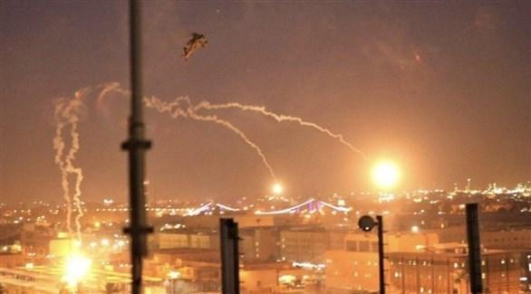 قصف سابق بالصواريخ في بغداد (أرشيف)