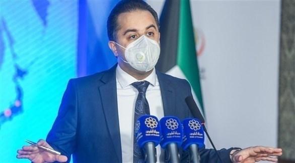 المتحدث الرسمي باسم وزارة الصحة الكويتية الدكتور عبدالله السند (أرشيف)