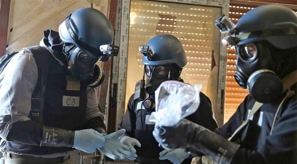 خبراء من  منظمة حظر الأسلحة الكيماوية (أرشيف)