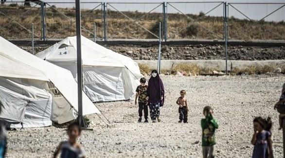 مخيم الهول (أرشيف)