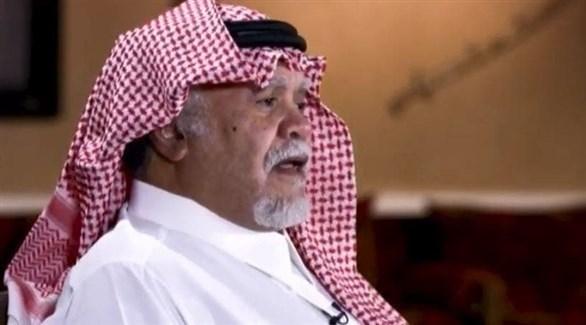 الأمير بندر بن سلطان خلال المقابلة (العربية)