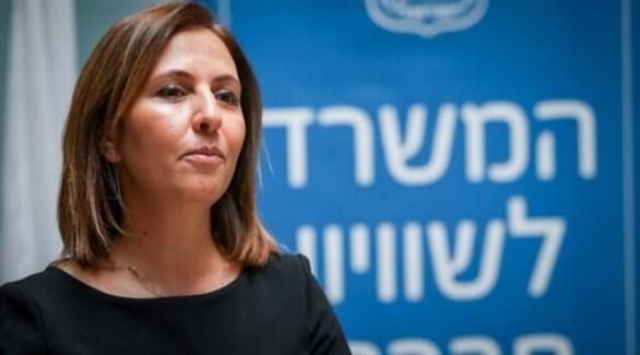 وزيرة حماية البيئة الإسرائيلية غيلا غملئيل (أرشيف)